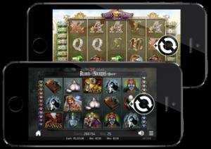 Smarttelefon med casinospill